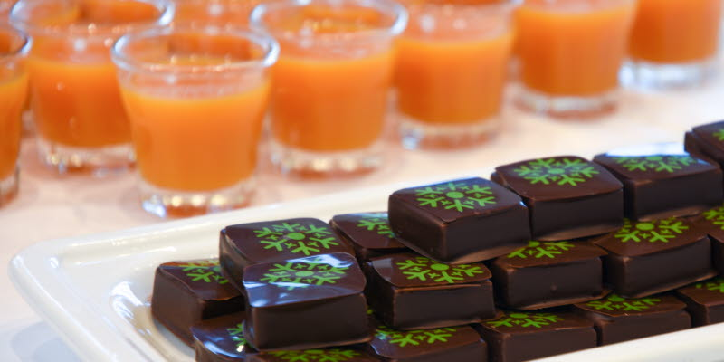 Choklad och smoothies