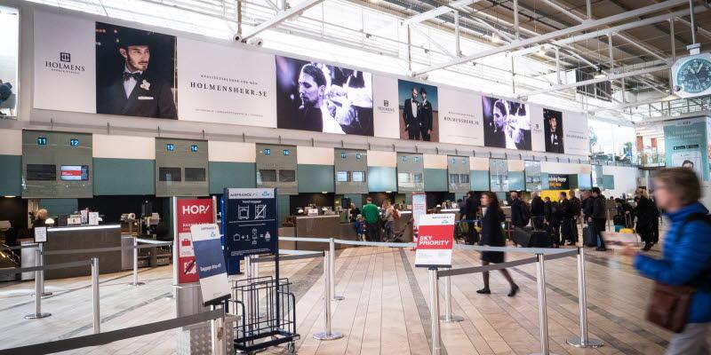 Airport Advertising Göteborg Landvetter Airport