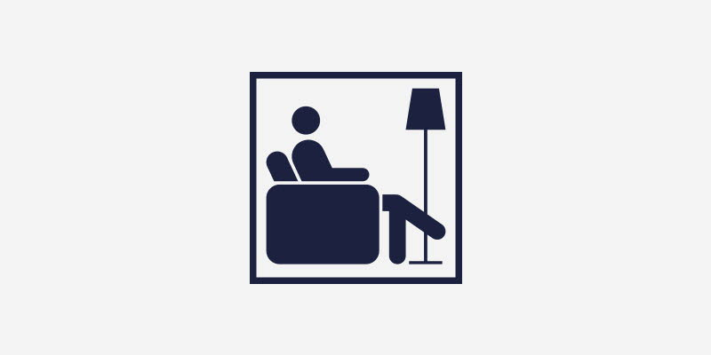 Pictogram för Lounge