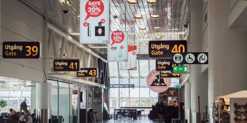 Airport Advertising Stockholm Arlanda Airport