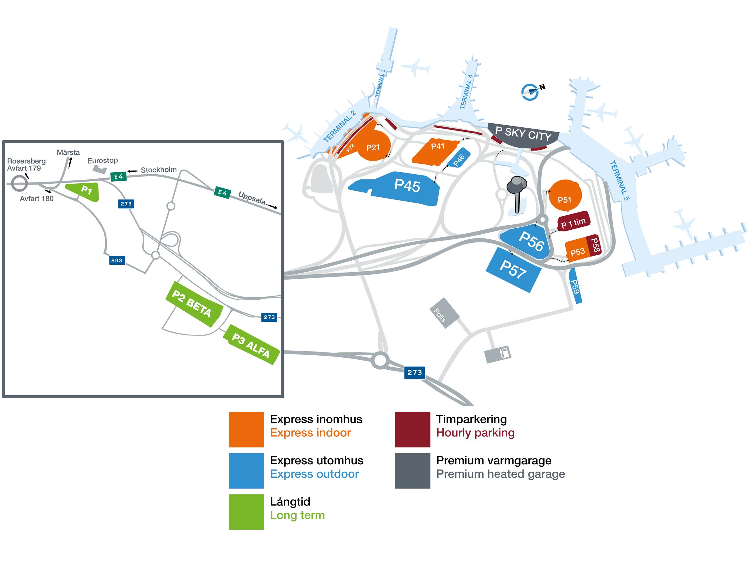 Karta Over Arlanda Flygplats.Hitta Pa Flygplatsen Stockholm Arlanda Airport