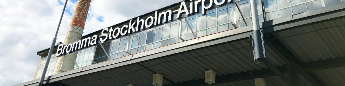 Bromma Stockholm AIrport
