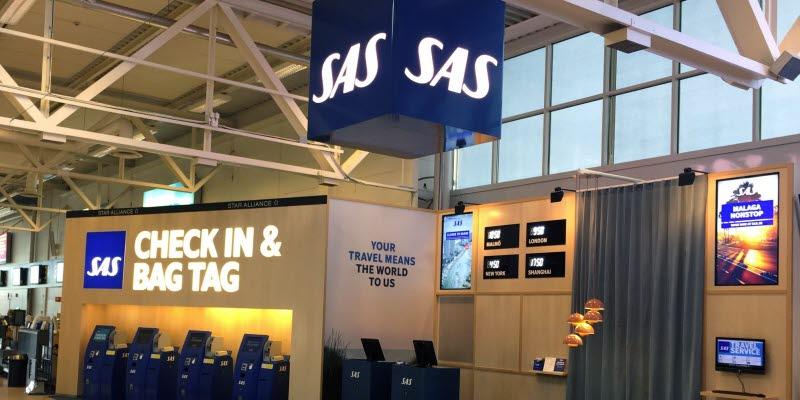 Sas Uppgraderade Service Point På Malmö Airport öppnar åter Idag