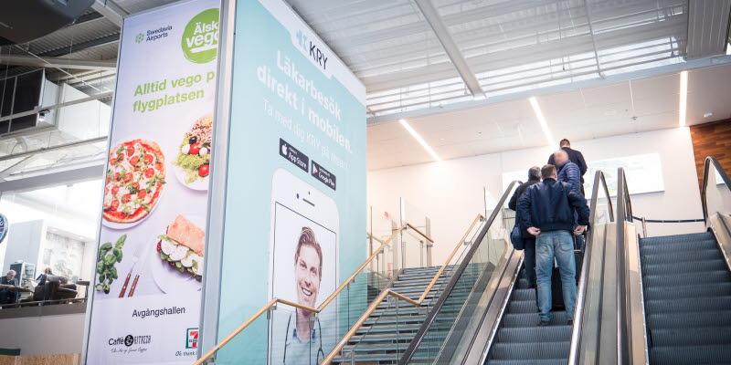 Reklamplatser Göteborg Landvetter Airport